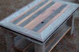 coffee tables rustic reclaimed wood coffee table pleasurable