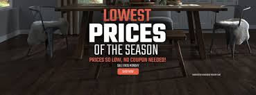 Efloors Lowest Prices Of The Season