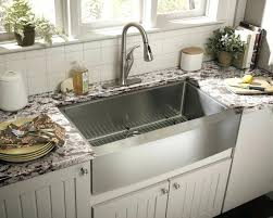 Kitchen Sinks With Drainboard Built In by Large Double Kitchen Sinks Uk Big Single Bowl Ledge Gauge