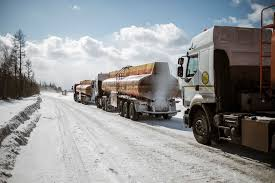 For Truck Drivers On Siberia's Ice Highways, Climate Change Is ...
