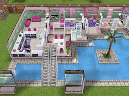 Sims Freeplay Second Floor by House 101 Barbies Dream House Ground Level Sims Simsfreeplay