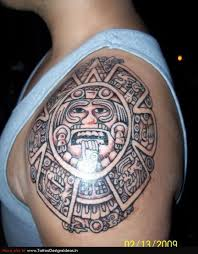 Aztec Tribal Tattoos Design