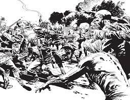 The Walking Dead Coloring Book Robert Kirkman Charlie Adlard 9781632157744 Amazon Books