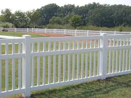 Decorative Garden Fence Panels by White Vinyl Fence Panels Will Beautify Your Living Home Netblr