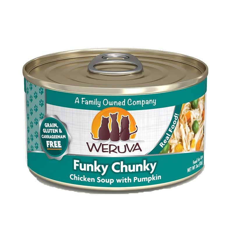 Weruva Funky Chunky Canned Cat Food - Chicken Soup