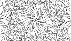 Abstract Coloring Pages Difficult