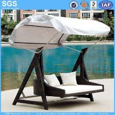 china garden furniture rattan furniture swing with canopy swing