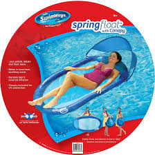 Kelsyus Original Canopy Chair With Ottoman by Amazon Com Swimways Spring Float With Canopy Toys U0026 Games
