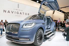 2018 Lincoln Navigator Previewed With Dramatic New York Concept ... Thread Of The Day Nextgen Lincoln Navigator What Should Change The 2015 Is A Big Luxurious American Value Ford Recalls 2018 Trucks And Suvs For Possible Unintended Movement Silver Lincoln Navigator Jeeps Car Pictures By Shipping Rates Services Used 2007 Lincoln Navigator Parts Cars Youngs Auto Center Skateboard Home Facebook Dubsandtirescom 26 Inch Velocity Vw12 Machine Black Wheels 2008 An Insanely Hot Seller Even At 100k Pin Dave On Best Cars Pinterest Matte Black Dream Its As Good Youve Heard Especially In Has Already Sold 11 Million So Far This Year