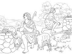 Cain And Abel Sacrifice To God Coloring Page From Category Select 27278 Printable Crafts Of Cartoons Nature Animals Bible Many