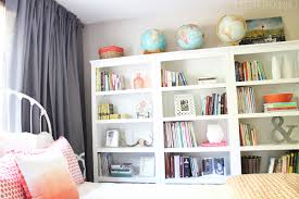 Our Cozy New Guest Room Home Library With Three Target Threshold Bookshelves