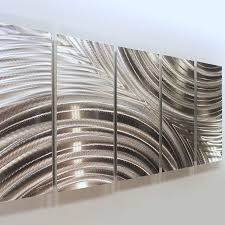 Chrome Wall Art Large Metal Sculptures Home Remodel Best 25