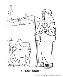 Christmas Story Coloring Pages 3