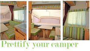 Camper Interior Decorating Ideas by Pink U0026 Polka Dot U2013 Prettify Your Camper