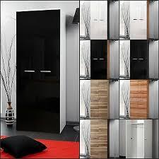 garderobe schlafzimmer schrank kleiderschrank 2 türig hochglanz top design neu