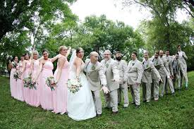 Pink And Gray Wedding Colors