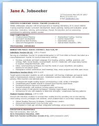 Teaching Professional Resume Examples Of Teacher Resumes Teachers Provides Online Packages To Assist For Curriculum