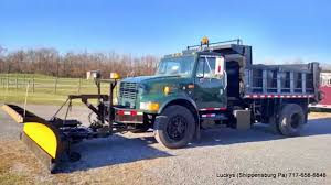 Photos International 4600 State Snowplow Truck - YouTube Western Midweight Snow Plow Ajs Truck Trailer Center Trucks Plowing Snow The 1947 Present Chevrolet Gmc Mack Trucks For Sale In Pa 2005 Intertional 7600 Plow Dump Truck 426188 M35a2 2 12 Ton Cargo With And Spreader 1995 Ford F350 4x4 Powerstroke Diesel Mason Dump Plow 2009 Used 4x4 With Salt F Home By Meyer 80 In X 22 Residential History Mission Of Ciocca 2004 Mack Granite Cv712 1way Liquid For Sales Sale