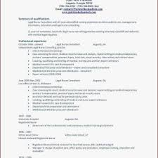 Sample Nursing Resume Best Fresh New Nurse Awesome