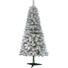 7 Ft White Pre Lit Christmas Tree by Interior Flocked Christmas Tree 9 Foot Flocked Christmas Tree