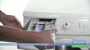 changer le bac à savon dans un lave linge