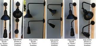 wall lights design outdoor industrial exterior light fixtures