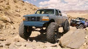 Ford F354 Monster Truck Vs. Johnson Valley Rocks - Roadkill