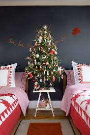 A Small Tree Decorated With Colorful Ornaments Is Great Idea For Kids Room