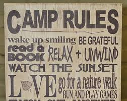 Grandma And Grandpas Camping Rules