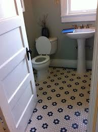 surprising black and white hexagon floor tile photos best
