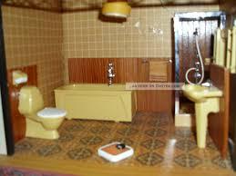 lundby puppenhausmöbel 1 18 badezimmer 70er j wanne wc