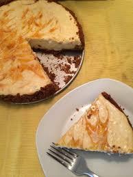 Pumpkin Swirl Cheesecake Bars by Lightened Up Apricot Swirl Cheesecake For Cheesecakeday