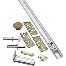 1 Closet by Shop National Hardware 1 Piece Bifold Closet Door Hardware Kit At