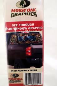 100 Mossy Oak Truck Graphics Grahics Woodland Splendor Turkey Rear Window Graphic EBay