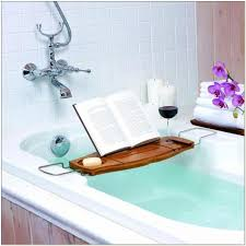 Teak Bath Caddy Canada by Bamboo Bathtub Caddy Canada Bathubs Home Decorating Ideas