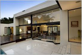 100 Glass Walled Houses Rectable Design Exterior House With Wall Curtains And Wooden