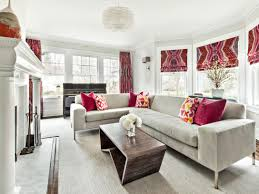 12 living room ideas for a grey sectional hgtv s decorating in