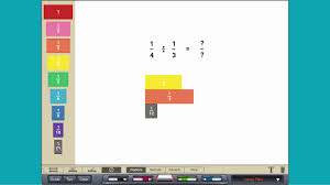 Virtual Algebra Tiles For Ipad by Dividing Fractions With Fraction Tiles Youtube