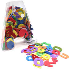 Amazoncom Magnetic Letters And Numbers 104pcs Educational