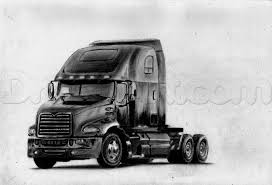 100 Mac Truck How To Draw A K Step By Step S Transportation FREE
