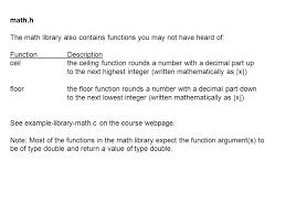 Math Ceil Java Int by C Ceiling Function Integer Www Energywarden Net
