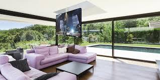 support tv au plafond maior flip900 supports tv motorisés sur easylounge
