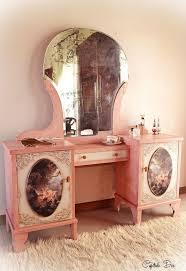 A Romantic Vanity Dresser Bedroom Ideas Painted Furniture Painting Wood Shabby