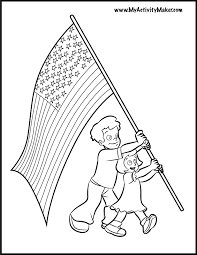 Flag Day Coloring Pages Printableprintablecoloring