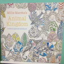 100pcs 24 Pages English Animal Kingdom Coloring Book For Children Adults Relieve Stress Drawing Secret Garden