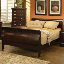 Big Lots Sleigh Bed by Bedroom Wooden Material Of Sleigh Beds For Inspiring Bed Design