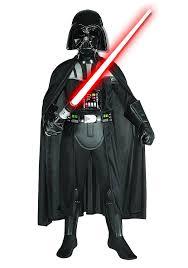 Halloween Voice Changer Walmart by Amazon Com Star Wars Deluxe Darth Vader Deluxe Child Costume