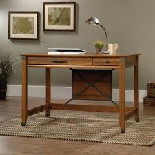 Sauder Computer Desk Cinnamon Cherry Dimensions by Carson Forge Writing Desk 412924 Sauder