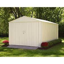 10x15 Storage Shed Plans by Amazon Com Steel Storage Shed 10 X 15 Ft High Gable Galvanized