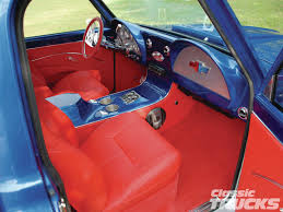 100 Custom Truck Interior Ideas 67 CHEVY CUSTOM C10 INTERIOR RED CORVETTE DASH 6772 Chevy GMC
